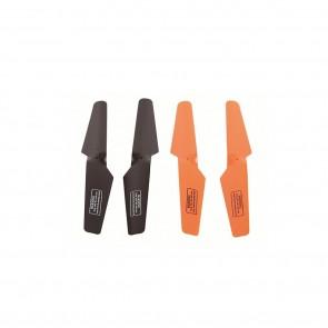 Rotor Blades for  RaptureHD, Rapture, Nova and Spectre drones Black/Orange